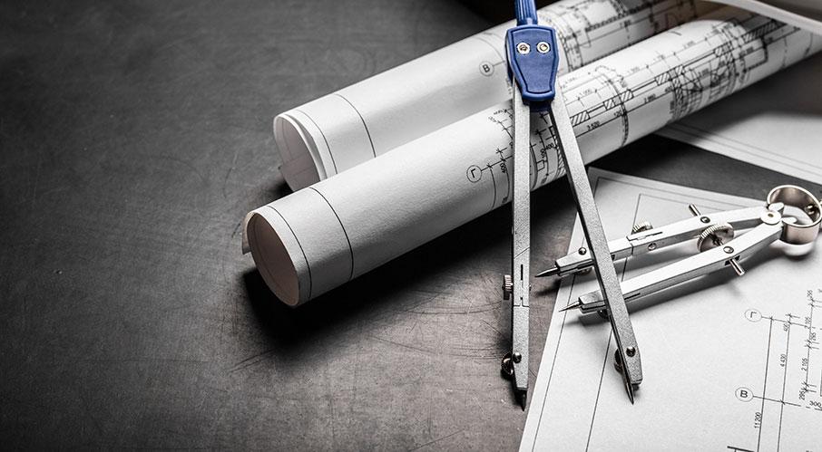 Vad är skillnaden mellan plan-, sektions och konstruktionsritningar?